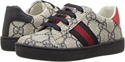 Gucci Kids - GG Supreme Low-Top Sneaker (Toddler)