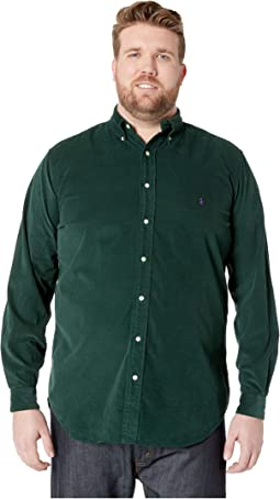 Big & Tall Corduroy Sportshirt