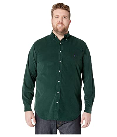 Polo Ralph Lauren Big & Tall Big Tall Corduroy Sportshirt (College Green) Men