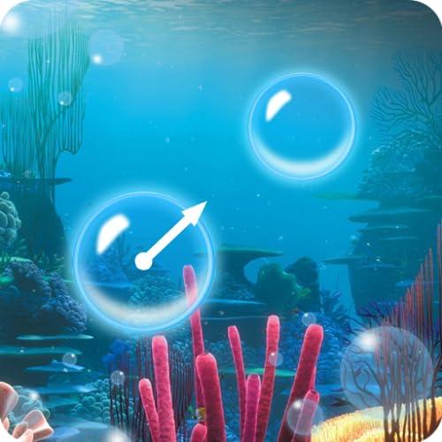 tirador de burbujas bajo el agua - juego de reventar burbujas - intenta explotar todas las burbujas
