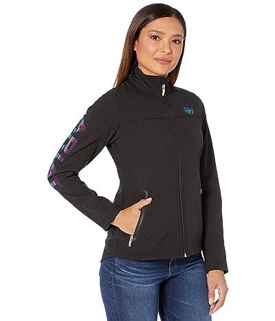 Ariat New Team Softshell Jacket (Black/Serape) Women