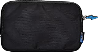 BCP Black Color Splash Proof Nylon Electronics Accessories Organizer/ Pouch/ Bag/ Case for Travel--7 x 4-1/4inches