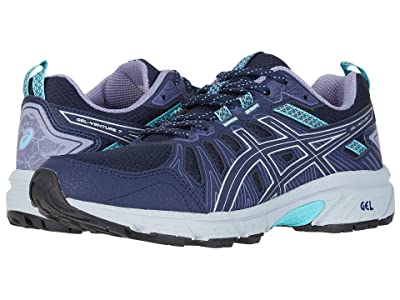 ASICS GEL-Venture(r) 7 (Black/Silver) Women