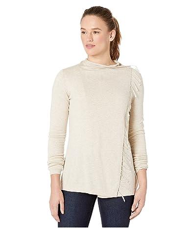 Aventura Clothing Benicia Wrap Cardi (Oatmeal) Women