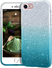 MATEPROX iPhone 8 case,iPhone 7 Glitter Bling Sparkle Cute Girls Women Protective Case for 4.7