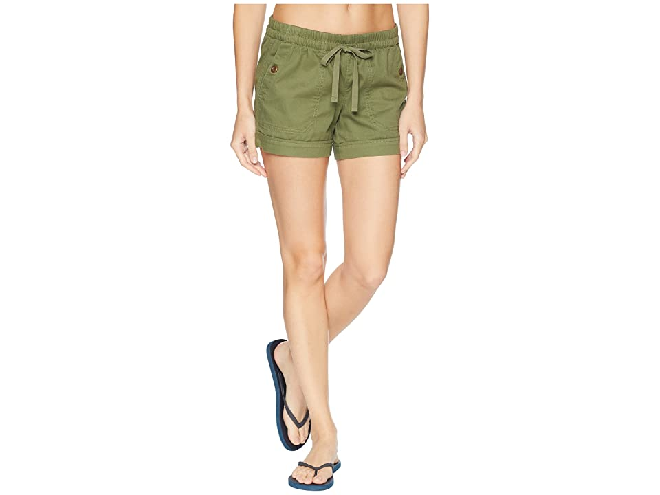 The North Face Sandy Shores Cuffed Shorts (Four Leaf Clover) Women