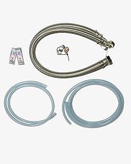 """Water2buy Installatie Kit RVS Gevlochten Broeken 1"""" (28mm) >Drain & Overflow Kit > Waterhardheid Test Strip"""