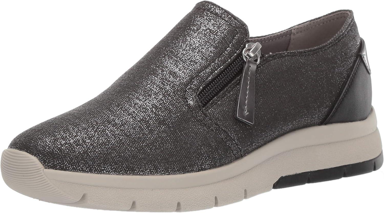 Geox Women's Callyn 1 Slip on Fashion Sneaker with Zip