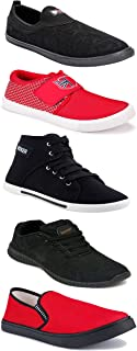 Shoefly Sports Running Shoes/Casual/Sneakers/Loafers Shoes for Men&Boys (Combo-(5)-1219-1221-1140-303-1074)