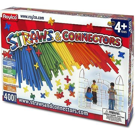 Roylco - Konstruktions-Set, 400-tlg. - Konstruktionsspielzeug Lernspielzeug Kreativ