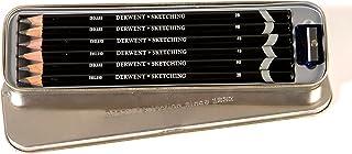 Derwent Sketching Pencils, 4mm Core, Metal Tin, 6 Count (0700836)