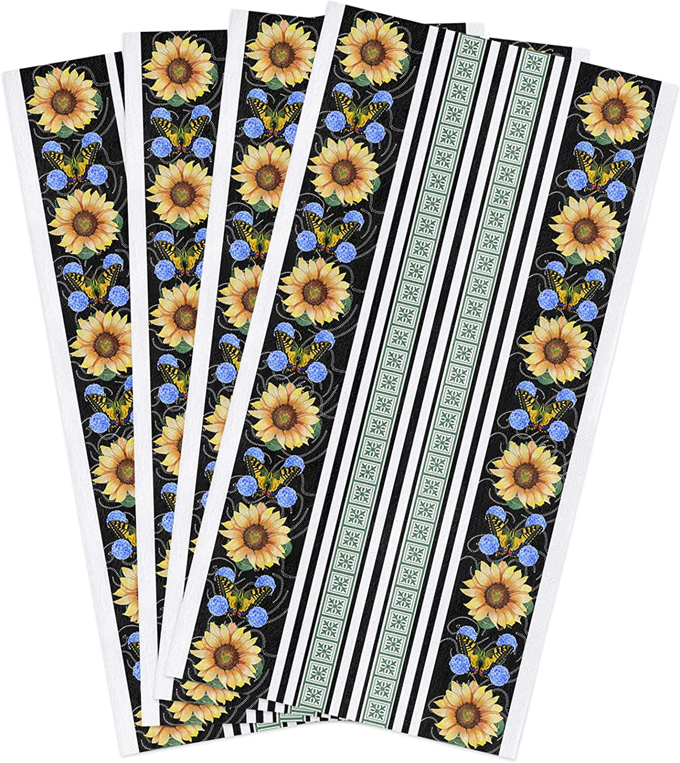 Pink Sky Kitchen Dish Towels Beautiful Butterflies Today's only Sunflower Dealing full price reduction and