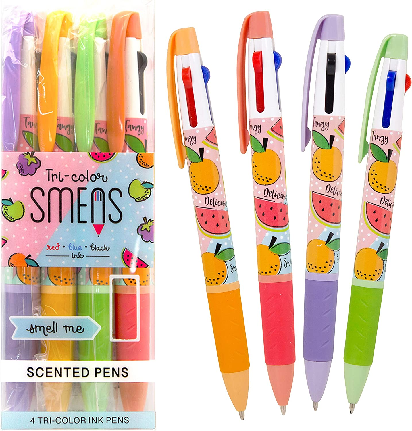 Tri-Color Smens- Scented Pens 4 Count National Regular store products by Scentco