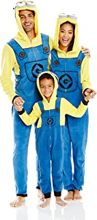 Despicable Me Boys' Minion Family Cosplay Union Suit