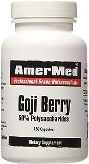 Amermed Goji Berry 50% Polysaccharides, 120 Capsules