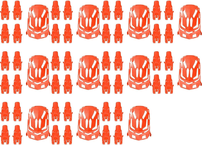 11 x Quantity of Estes PredoX Nano Body Shell H11101 Red Quadcopter Frame w  Motor supports  FAST FREE SHIPPING FROM Orlando, Florida USA