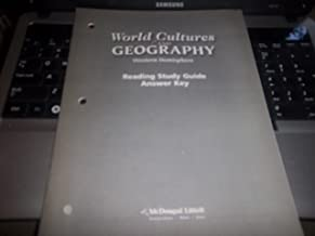 McDougal Littell World Cultures & Geography: Reading Study Guide Answer Key Western Hemisphere and Europe