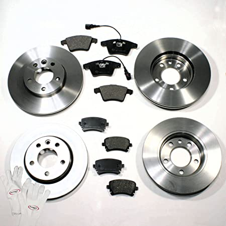 Autoparts Online Set 60006674 Bremsscheiben 1zb 1kt Bremsen Bremsbeläge Für Vorne Für Hinten Auto