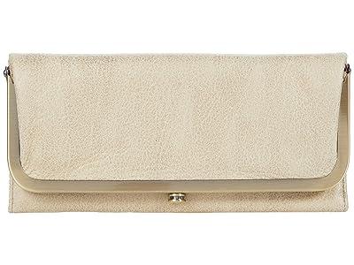 Hobo Rachel (Buffed Gold) Clutch Handbags