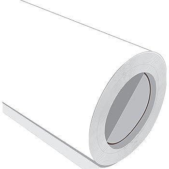 10 Metre (10 m) rollo de HD color blanco mate de 610 mm de ancho Vinilo autoadhesivo: Amazon.es: Hogar