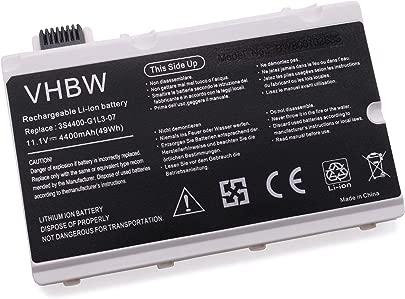 vhbw Akku passend f r Fujitsu Siemens Amilo Pi3450  Pi3525  Xi2550 Laptop Notebook  Li-Ion  4400mAh  11 1V  48 84Wh  wei