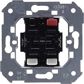 Simon 75398-39  - Conjunto de 2 interruptores, 10AX, 250V con sistema de conexión de terminal rápido