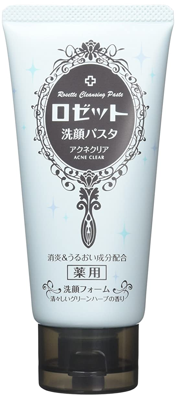 シンプトンパイントサスペンドロゼット洗顔パスタ アクネクリア 120g 【医薬部外品】