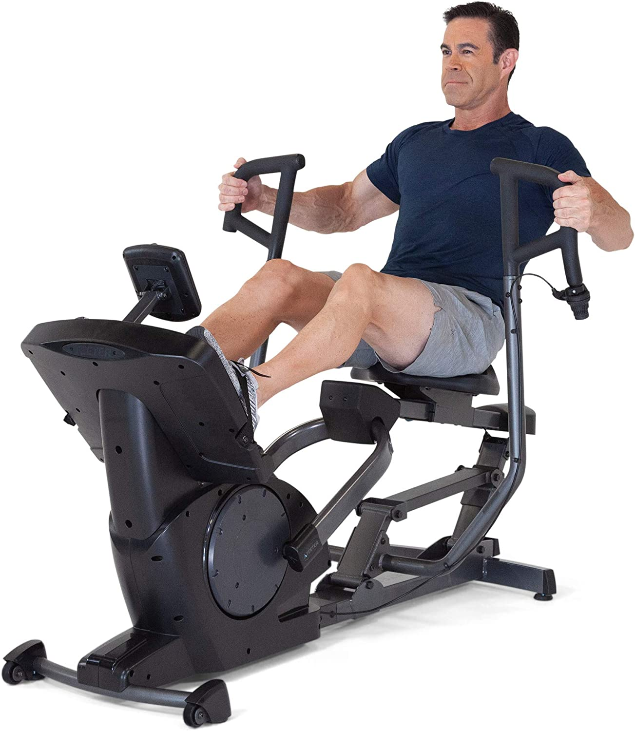 Teeter Power10 Rower with 2-Way M Magnetic Resistance Elliptical Complete OFFicial Free Shipping