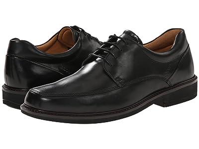 ECCO Holton Apron Toe Tie (Black) Men