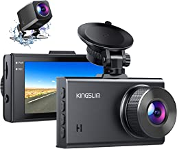 Sponsored Ad - Kingslim D2 2.5K Dual Dash Cam, 1440P&1080P Front and Rear Camera for Cars 170 Degree Driving Recorder with...