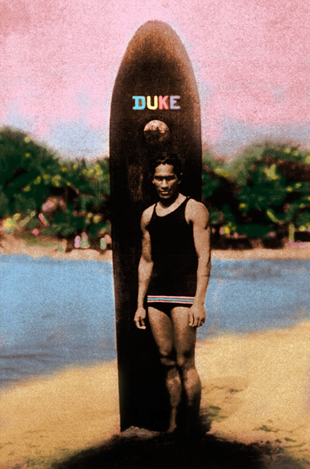 THE DUKE Limited time sale KAHANAMOKU HAWAII SURFING Photograph Fixed price for sale By Michael LEGEND