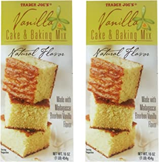 Trader Joe's Vanilla Cake & Baking Mix (Pack of 2)