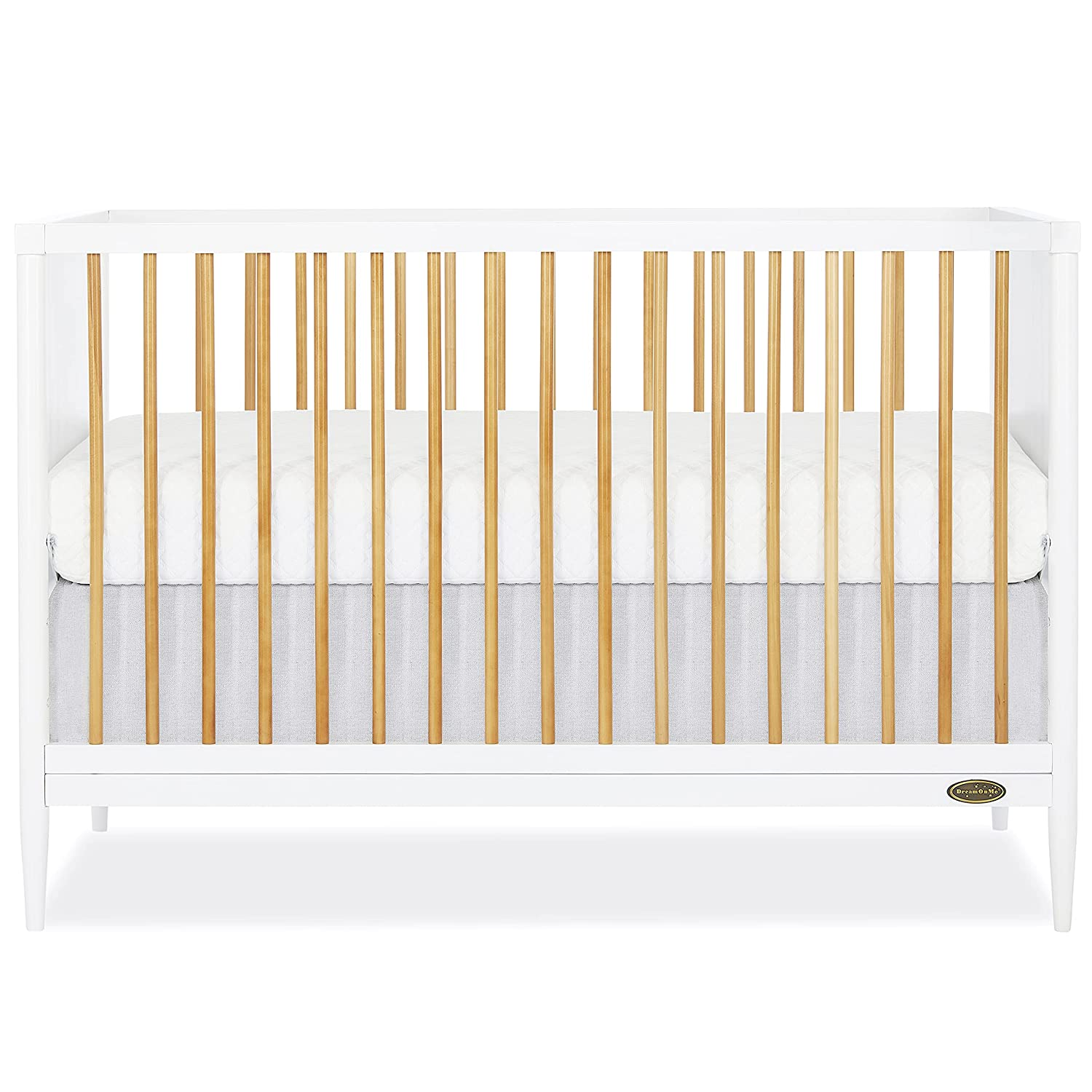 Clover 4-in-1 outlet Modern Island Crib Convert Rounded I with Spindles Max 50% OFF