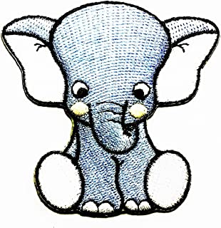 Best iron on elephant patch Reviews