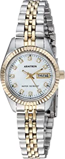 Women's 75/2475MOP Swarovski Crystal Accented Two-Tone...