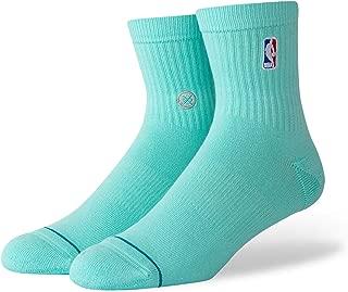 Men's M356D17LOG NBA Logoman QTR Casual Sock