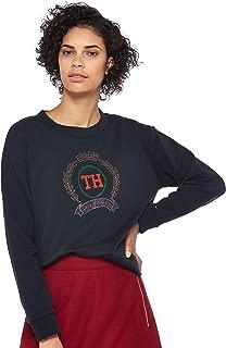 Tommy Hilfiger Women's WW0WW23666-Blue Sweatshirts