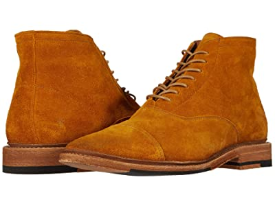 Frye Paul Lace-Up (Marigold Oiled Suede) Men