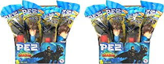 Pez How to Train Your Dragon Candy Dispensers Individually Wrapped Candy and Dispensers with Tru Inertia Kazoo (24 Pack)