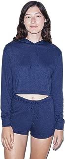 American Apparel Womens/Ladies Tri-Blend Cropped Hoodie