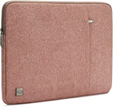 "DOMISO 12.5 Inch Water-Resistant Laptop Sleeve Notebook Carrying Case Bag for 13"" MacBook Pro Retina Display / 13"" MacBook Air / 12.9"" iPad Pro / 12.5"" Computers, Pink"