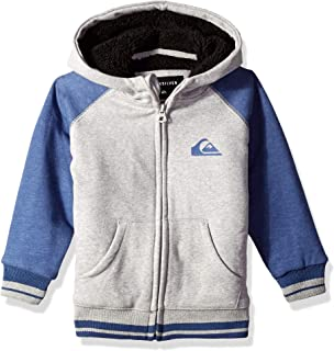 Quiksilver Children (youths) Juwa Sherpa Boy Bijou Blue Hoodie Size 4