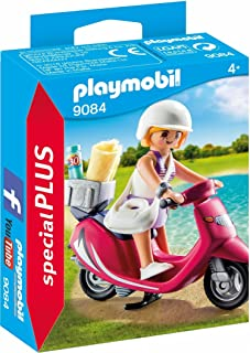comprar comparacion PLAYMOBIL Especiales Plus- Mujer con Scooter, única (9084)