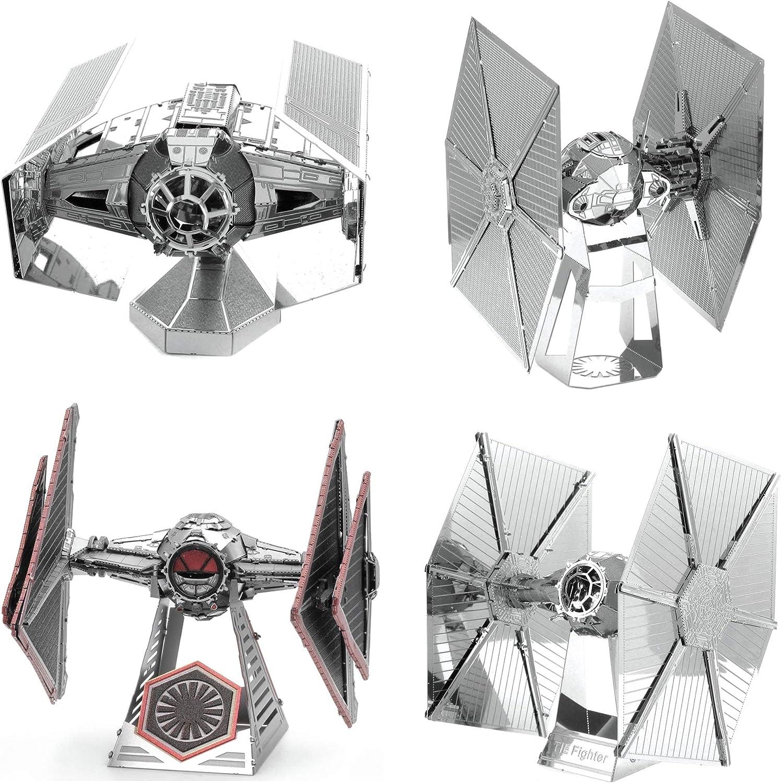 Fascinations 保証 Metal Earth 3D Model Star Wars Fight Kits Tie お見舞い