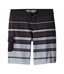 All Day X Stripe Boardshorts (Big Kids)