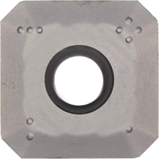 Pack of 10 12 Inscribed Circle Medium Chip Breaker 0.1563 Thick Sandvik Coromant R245-12 T3 K-MM S40T MTCVD Coated Solid Carbide CoroMill 245 Face Indexable Milling Insert 0.0591 Nose Radius