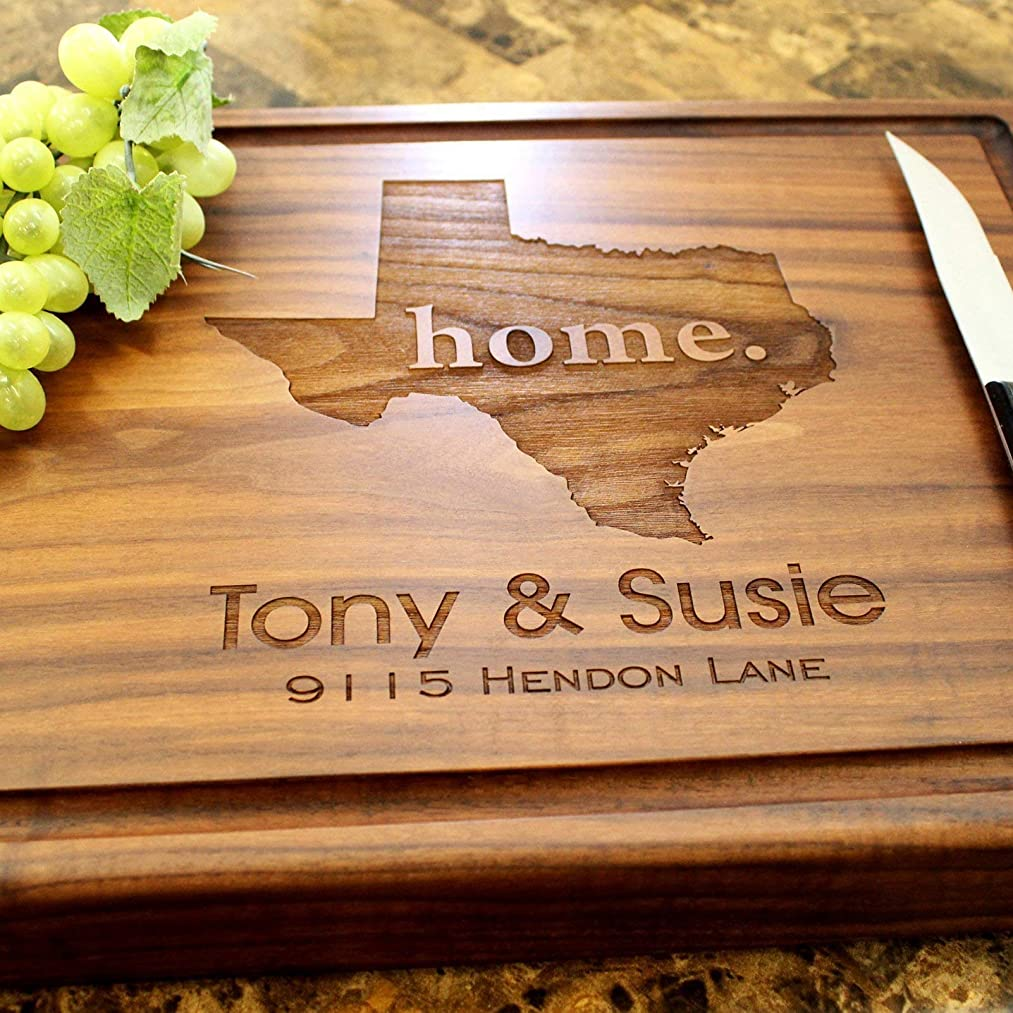 Real Estate Closing Personalized Engraved Chopping Block - Real Estate Closing Gift, Closing Gift, Housewarming Gift, Gift for Couples, Gift Ideas. #602