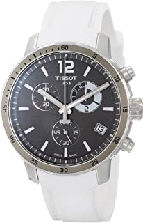 Tissot Men's T0954491706700 Quickster Analog Display Swiss Quartz White Watch