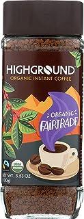 Highground Organic Instant Regular Coffee, 3.53 Ounce