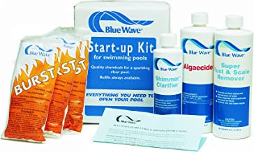 Blue Wave NY980 Pool Chemical Spring Start-Up Kit, 30000-Gallon